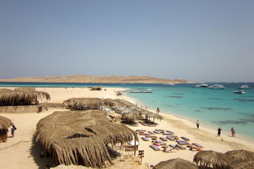Karibik-Feeling am Roten Meer: der Mahmya-Strand
